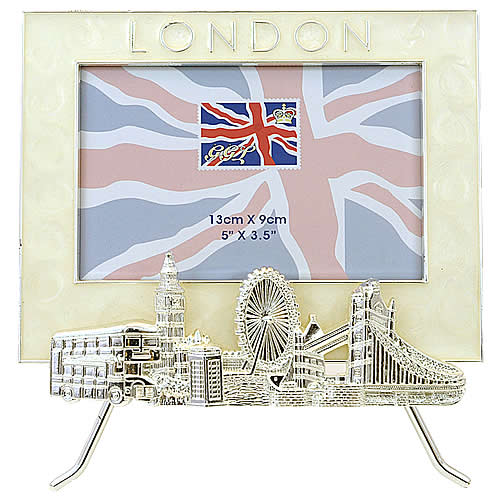 London Gifts : Picture Frames - London Sights Picture Frame